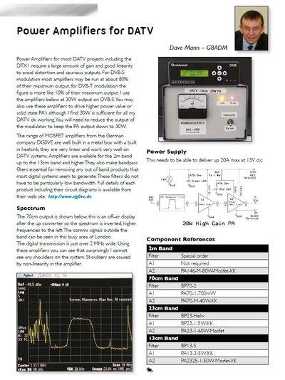 Power amplifiers - BATC Wiki